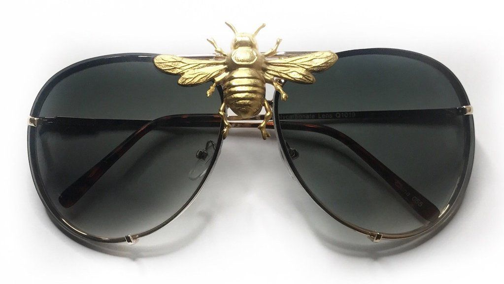 998b4dada4 I ll Be Rich Forever Bee Sunglasses  Limited Black Out Edition  – TNEMNRODA