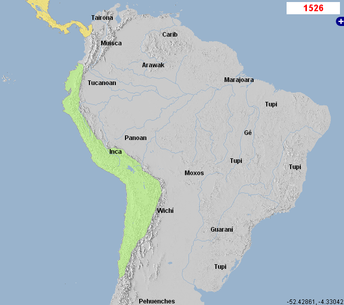 Geacron on inca empire and history world history atlas timelines inca empire 1350 1531 maps sequence gumiabroncs Choice Image