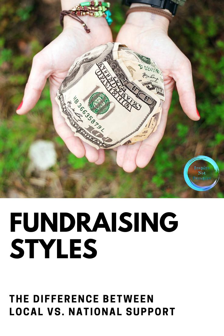 Local vs. National Fundraisers Social entrepreneur
