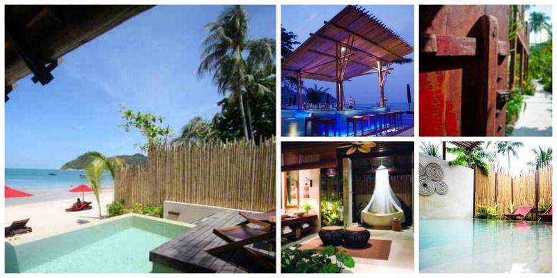 Anantara Rasananda Koh Phangan Villa Resort & Spa collage 2