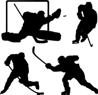 Wall Decals Hockey Sequence Slap Shot Ice Hockey Goalie Skate Winter Olympics Puck Stick Check Walltat Com Ar Hockey Room Hockey Drawing Hockey Crafts