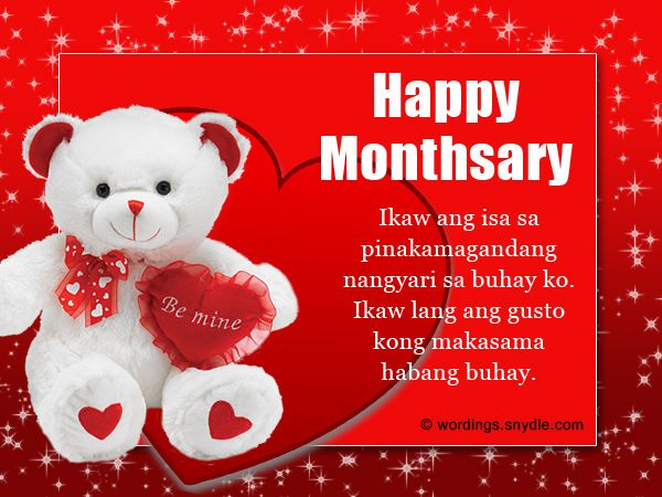 Share This On Whatsapphappy Monthsary Messages In Tagalog