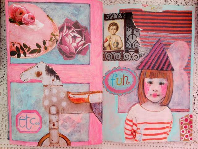 shabbygipsy: art journal