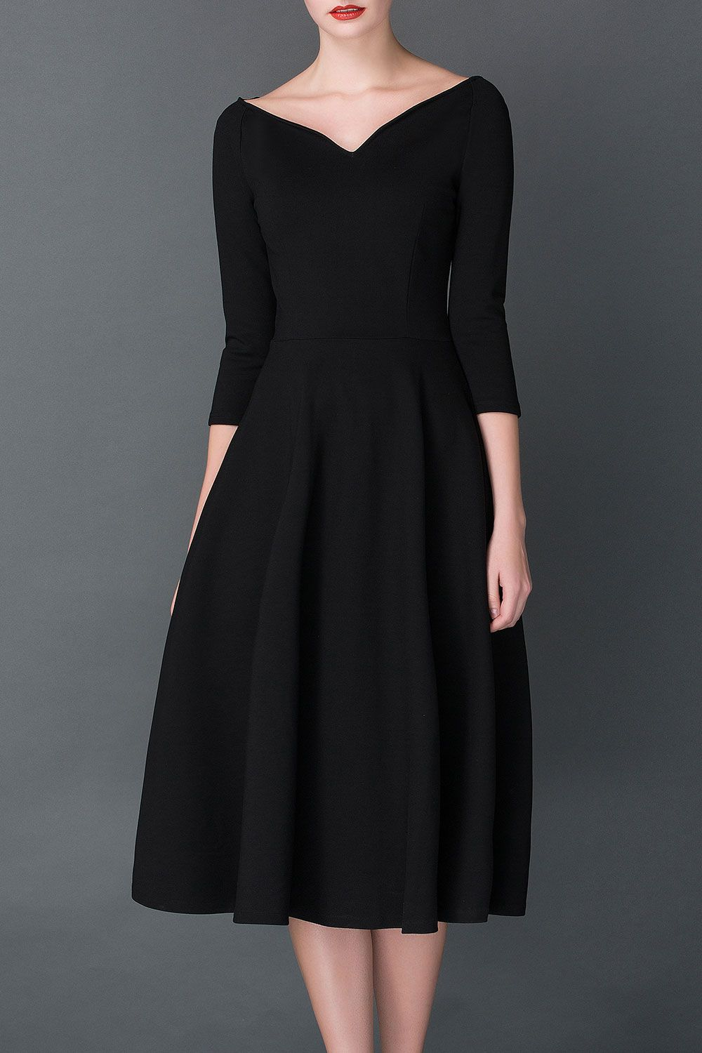 A Line Midi Hepburn Dress Click On Picture To Purchase Outfits