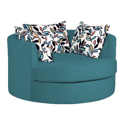 Nestle Chair Chair, Toss cushions, Modern furniture
