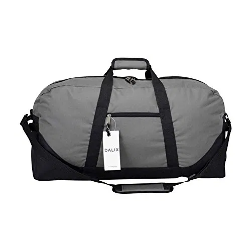 DALIX 25 Big Adventure Large Gym Sports Duffle Bag in Navy Blue Brand New