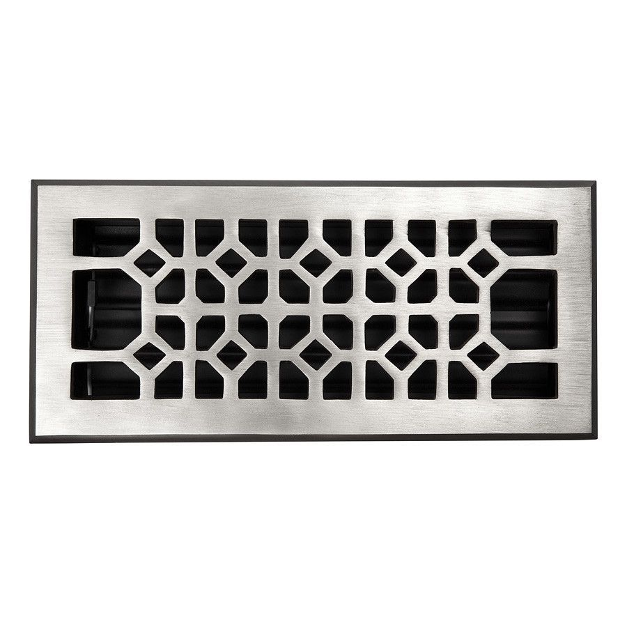 4 X 10 Copper Floor Register Floor Decor Vent Covers Flooring