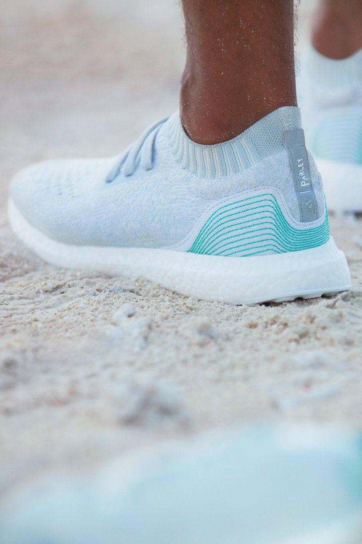 These Adidas are made from recycled ocean plastic, and they
