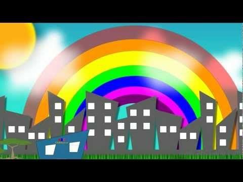 The Rainbow Song Colors Of The Rainbow Abc Gang Youtube Rainbow Songs Rainbow Colors Preschool Songs