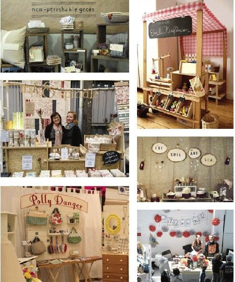 6 Ideas On How To Display Your Home Accessories: DIY Craft Booth Sign