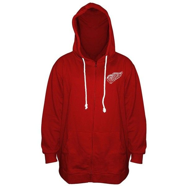Hoodie · Plus Size Majestic Detroit Red Wings ...