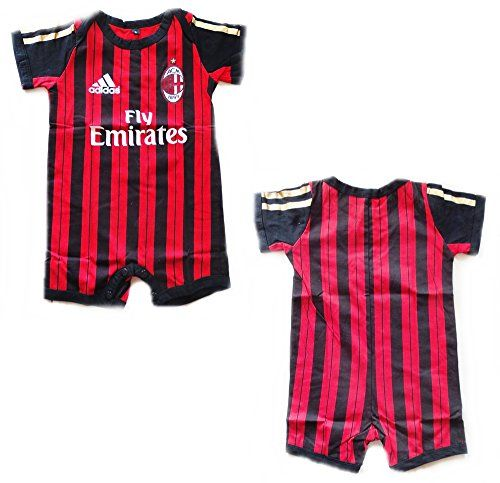 Ac Milan Baby Jumpsuit 0 6 Months Baby Soccer Http Www Amazon Com Dp B00ootx7ee Ref Cm Sw R Pi Dp 3upsub1f3w Baby Month By Month Baby Jumpsuit 6 Month Baby
