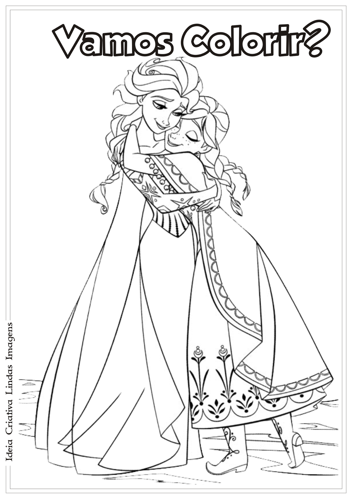 Da Disney Para Colorir Frozen Pinterest