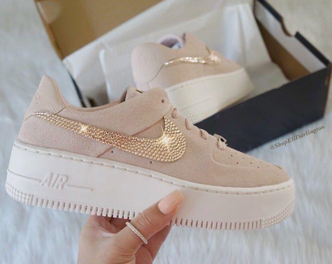 Custom Air Force 1 ''Flowers'' | Nike air force, Personnaliser ...