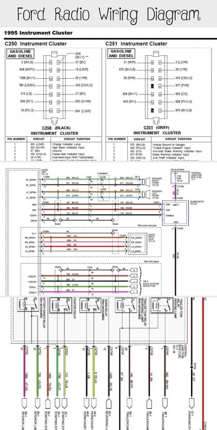 Ford Radio Wiring Diagram Cars Ford Radio Ford Focus Car