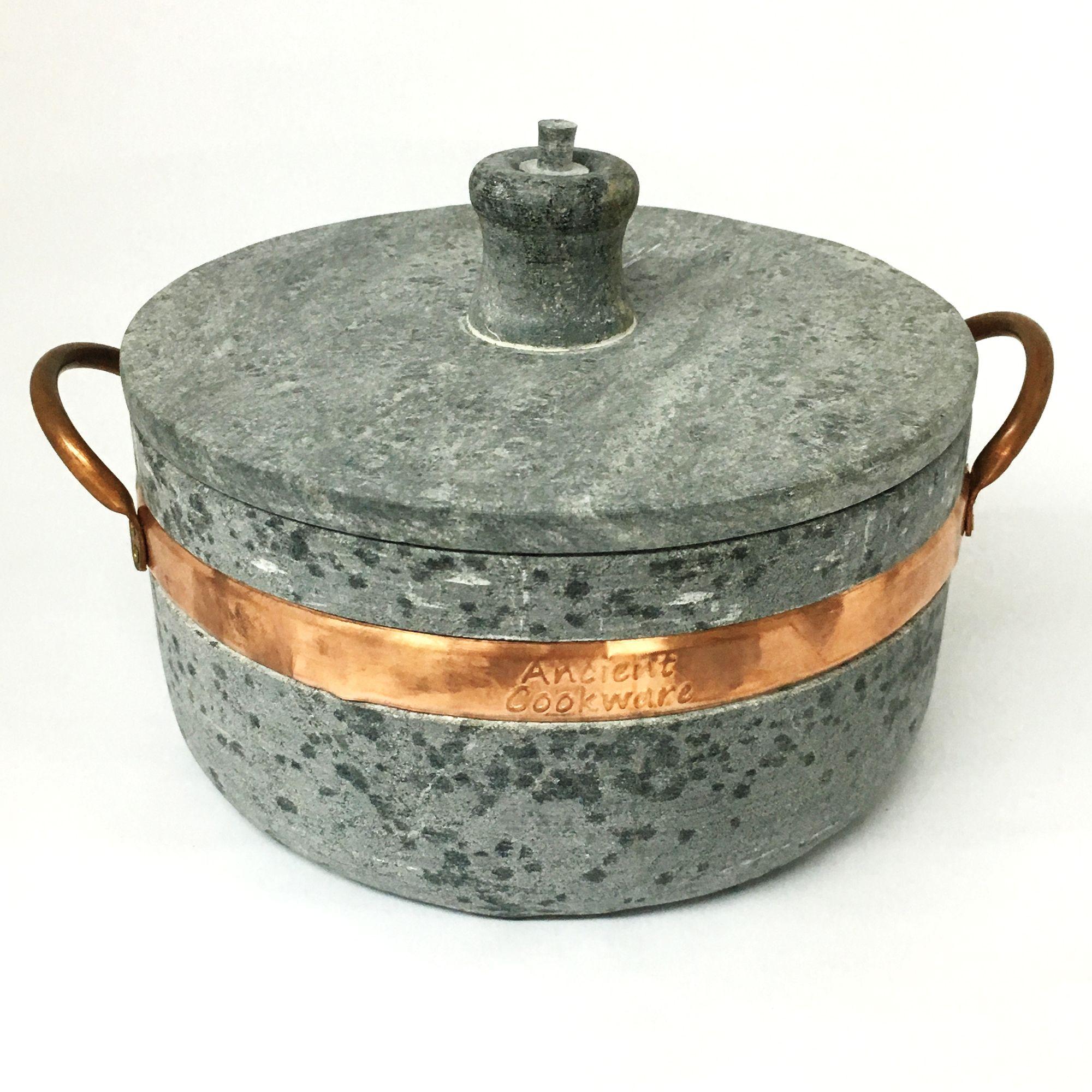 Brazilian Soapstone Semi Pressure Cooker Panela De Pedra Sabao