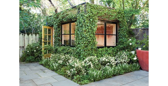 An Ivy Covered Art Studio   Love! This Little Ivy Covered Painting Cube In  San Francisco Was Once A Simple Garden Shed. I Love How It Blends In With  The ...