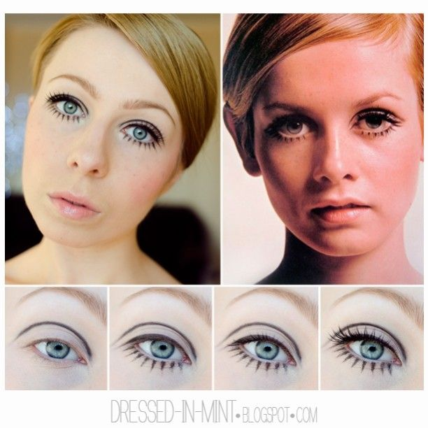 Twiggy Inspired Makeup Tutorial Twiggy Makeup Inspired