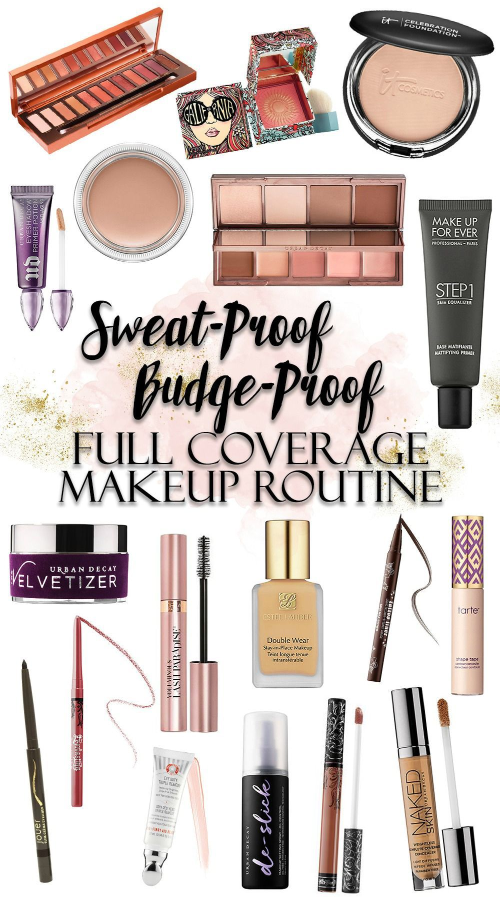 How To Sweat Proof Your Full Coverage Makeup Routine For Summer In 2020 Sweat Proof Makeup Full Coverage Makeup Makeup Routine
