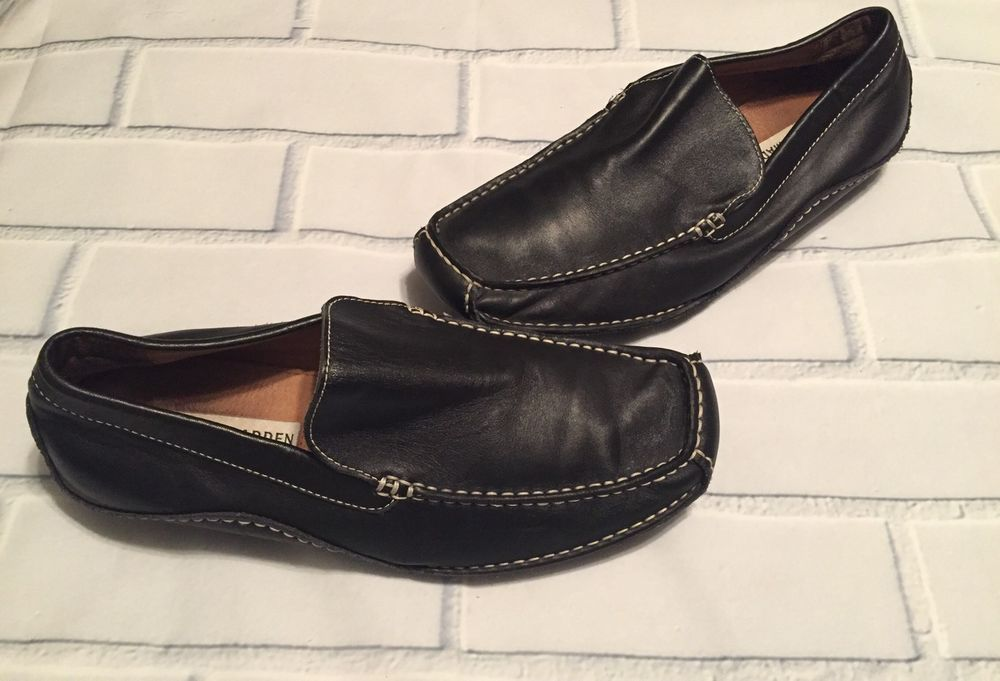 Mm Parcial raro  Steve Madden Mens Novo Loafers Driving Shoe Moccasins-Black Leather Slip  On-Sz 9 #SteveMaddenMen #DrivingMoccasins | Leather slip ons, Loafers,  Driving shoes