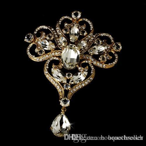 Wholesale Cheap Brooch Online Crystal Find Best 3 75 Inch