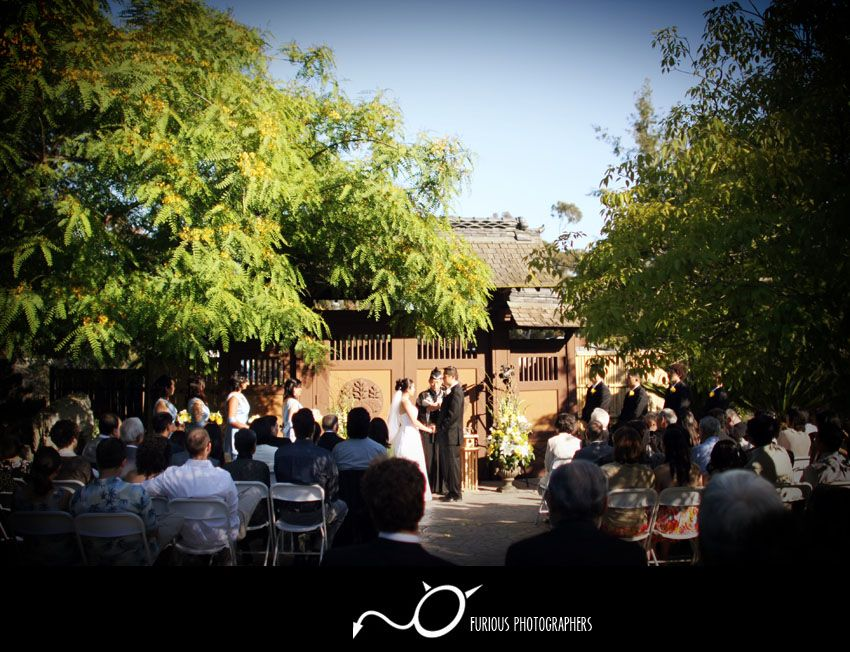 Ceremony at the Ceremonial Gates Balboa park san diego