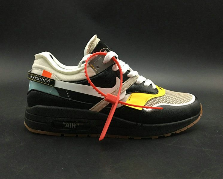 Off Blanco X Nike Air Max Abloh 1 Negro Leather Virgil Abloh Max X Bespoke Ind a2d51e
