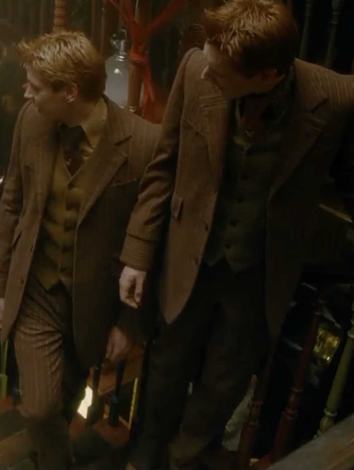 Full Body Weasley Twins Fred And George Weasley Harry Potter Twins