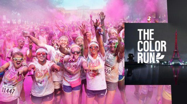 #IdéeDuJour A vos marques, prêt, partez: Assistez au runs colorés de #TheColorRun #Happiest5k #Paris #volunteers