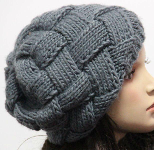 sombrero hecho punto invierno del earflap del telar jacquar del ...