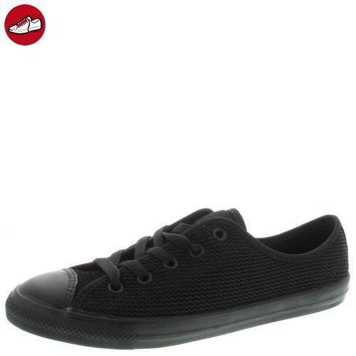finest selection 34e33 76195 Converse Dainty Low Schuhe All Black Mono Schwarz Chucks Schuhe Herren  Damen - cdearth.org