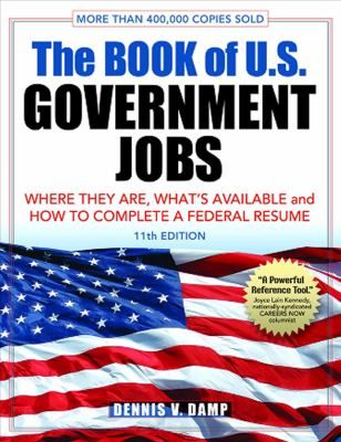 Cover image for The book of US government jobs  where they are - government jobs resume