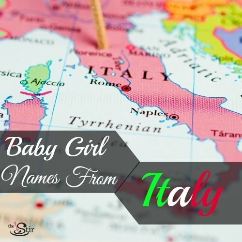Italian Boy Name: 20 Gorgeous Italian Names For Baby Girls