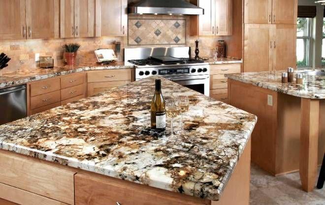 Brown Persa Granite Countertops Kitchen Brown Granite Countertops Granite Kitchen