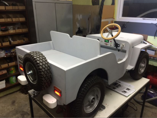 New Zealand Dad Making A Mb43 For His Daughter Jeep Plywood