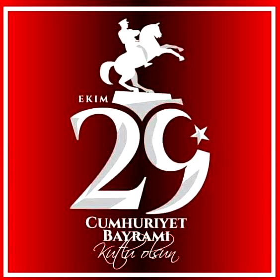Cumhuriyet Bayramınız kutlu olsun. Ne mutlu Türküm diyene