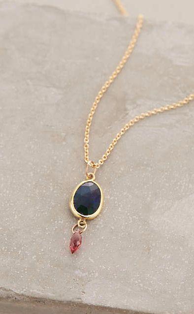 Dora Black Opal Necklace #anthrofave