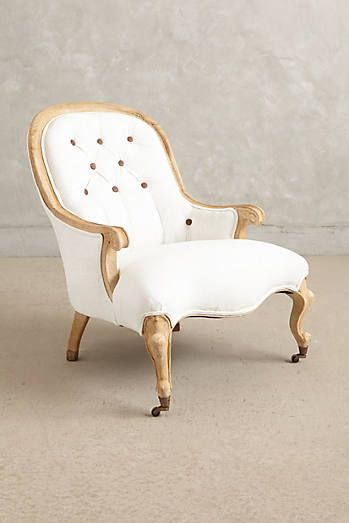 Tufted Emilie Armchair | Stuff to Buy | Pinterest | Luis xv, Muebles ...