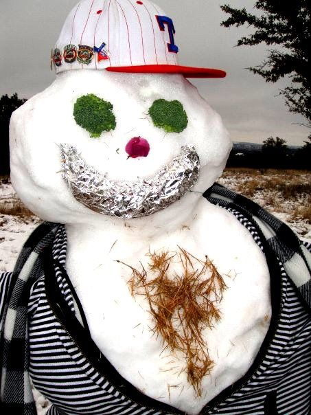 Indiana Pacers Snowman