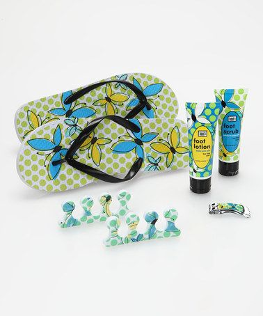 Butterfly Chic Complete Pedicure Set #zulily #zulilyfinds