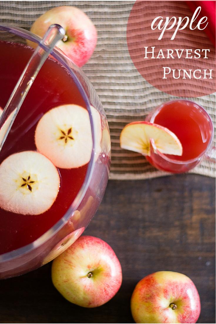 Fall Recipes: Apple Harvest Punch #falldrinks