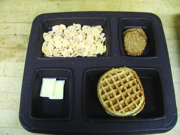 The eggs look un done    Food In Prisons in 2019   Food