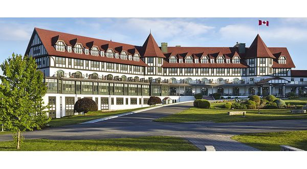 Hotel On The Bay Of Fundy St Andrews New Brunswick Canada