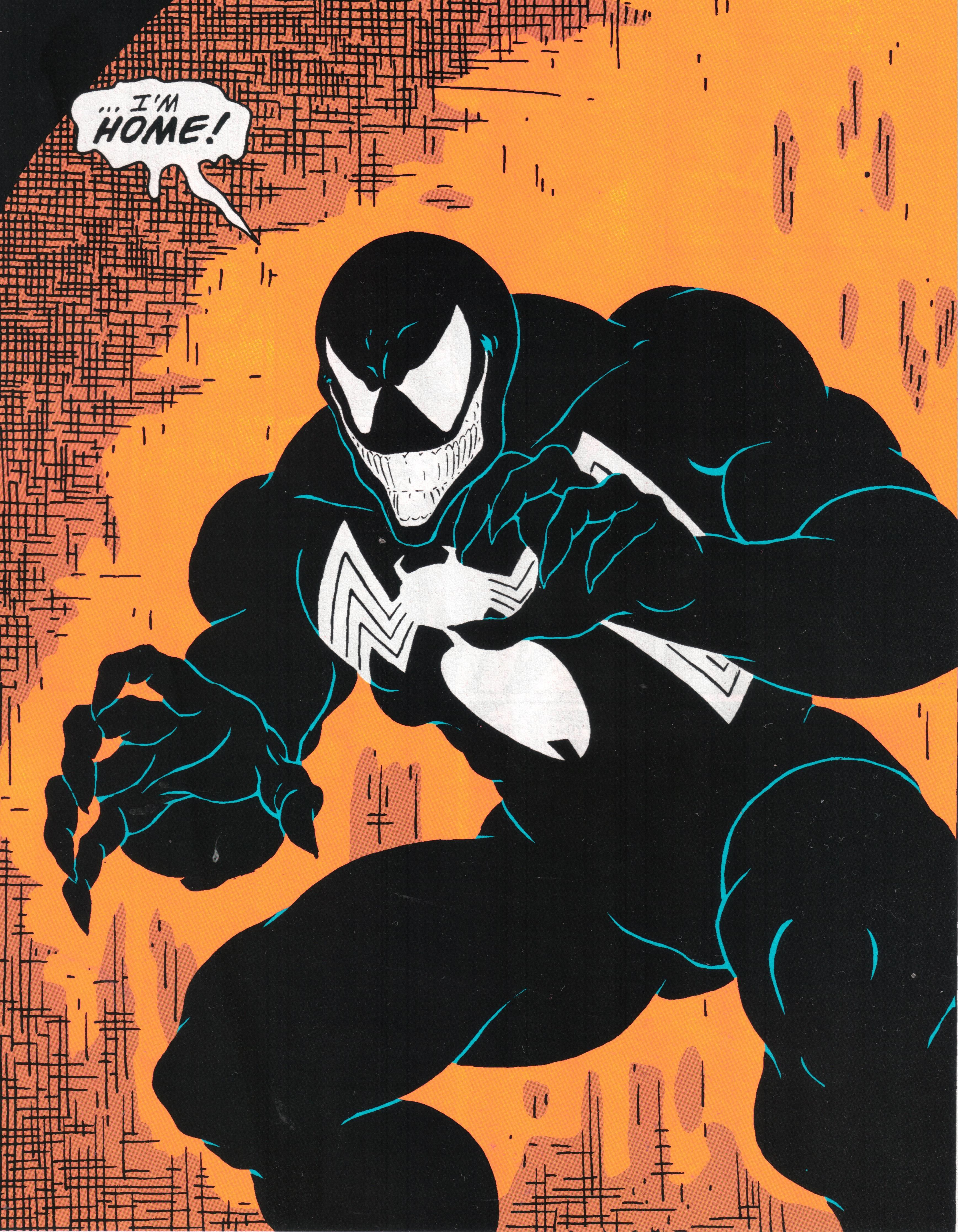 first appearance of venom - amazing spider-man 99 | tech-fi and