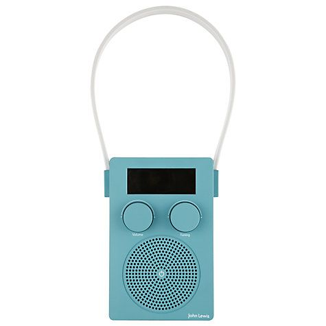John Lewis Spectrum Dab Fm Portable Digital Shower Radio Online At Johnlewis