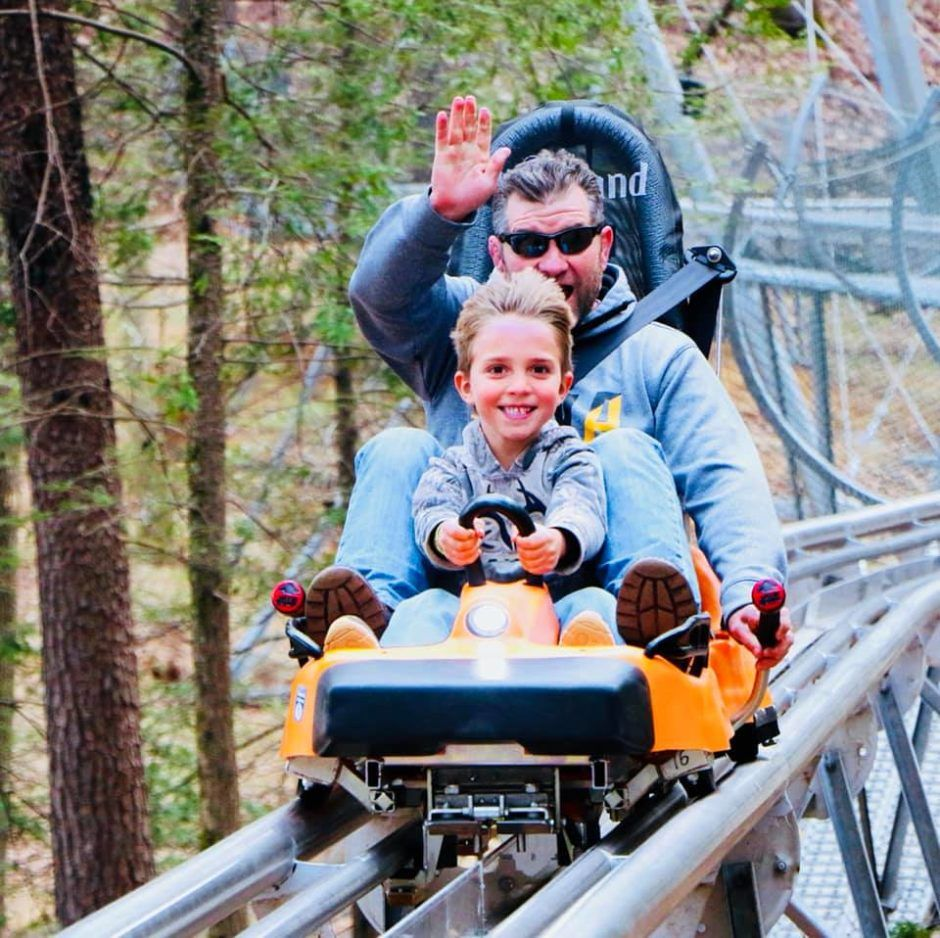 The First Alpine Coaster In Georgia Is Now Open