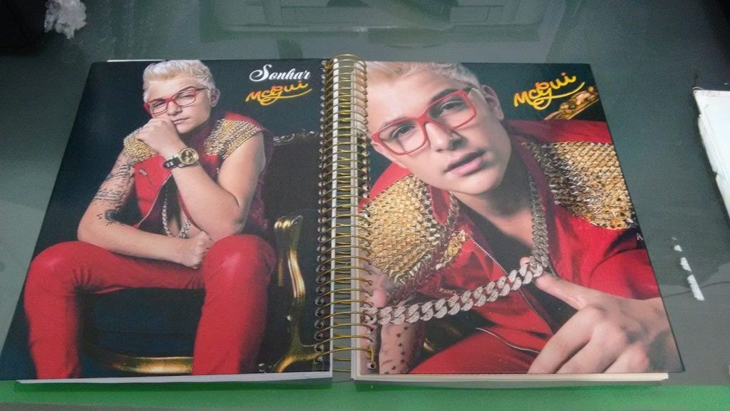 Caderno Mc Gui Comprar Em Cadernos Dahora Caderno Caderno 10