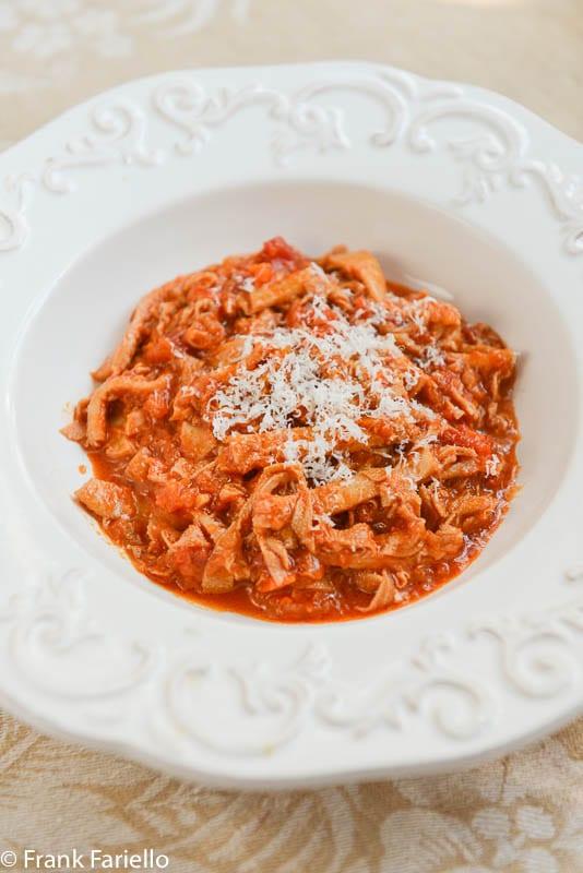 Trippa Alla Fiorentina Florentine Style Tripe Memorie Di Angelina Recipe Tripe Tripe Recipes Food Shows
