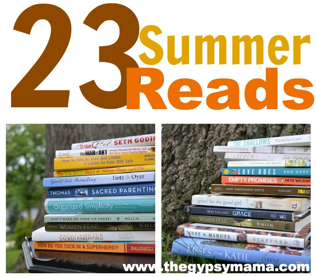 23 Summer Reads – a reading list for lazy days -- almost all of these are favorites, or ones I want to read.