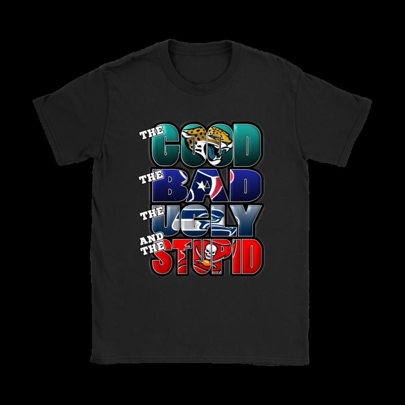 The Good Bad Ugly Stupid Mashup Nfl Jacksonville Jaguars Shirts